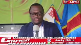 30′ ACTU AVEC J NDALA:TRANSITION SANS KABILA,ELECTION AVEC MACHINE A VOTE, LIBERATION ELIEZER, ROSSY. LE 14/04/2018