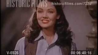Test de camara Belle Starr 1941