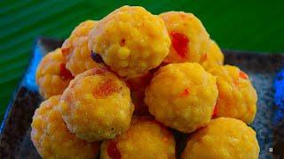 பூந்தி லட்டு செய்முறை | Boondi Ladoo Sweet In Tamil | Diwali Sweet Recipes | Diwali Recipes In Tamil
