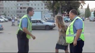 Женщины на дороге #9 Пьяная ТП разбила машину