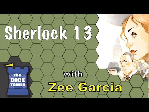 Sherlock 13 - A Dice Tower Review with Zee Garcia