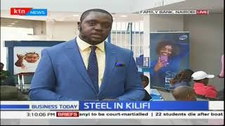 Kshs. 1 Billion steel plant open in Kilifi County
