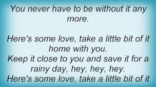 Tanya Tucker - Here's Some Love Lyrics