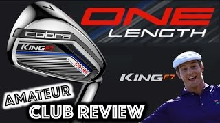 Cobra King F7 ONE LENGTH Irons - Amateur Golf Club Review