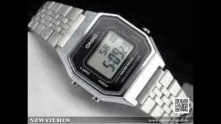 Casio Retro Digital Ladies Watches LA680WA-1DF, LA680WA