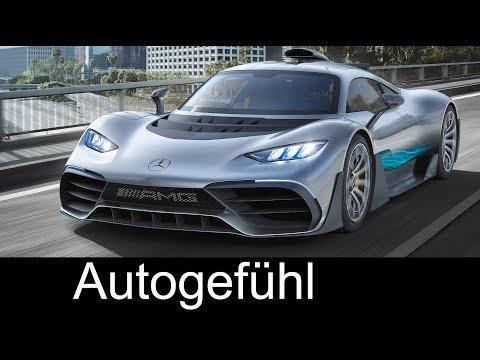 Mercedes-AMG Project One - IAA 2017 Trailer - Autogefühl