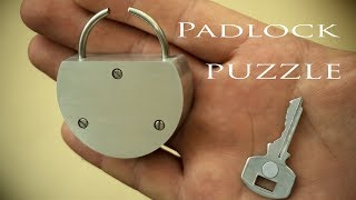 Padlock PUZZLE || Will not open even with the key!