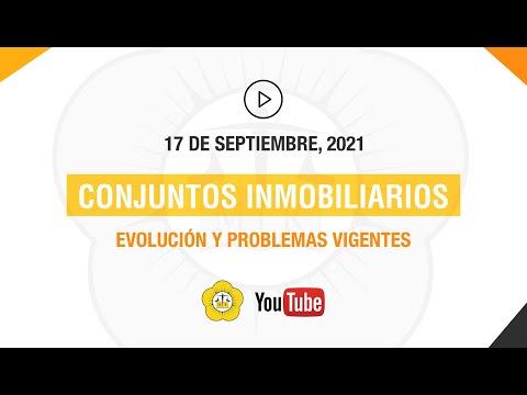 CONJUNTOS INMOBILIARIOS - 17 de Septiembre 2021