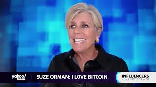 Why Suze Orman says she 'loves Bitcoin'