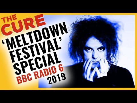 THE CURE - Steve Lamacq live from Robert Smith's Meltdown Festival @ BBC 6 Music