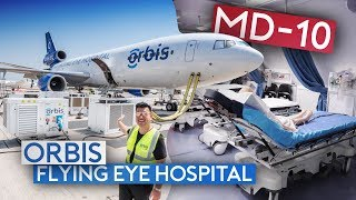 Flying Inside the World's Only Flying Hospital MD-10