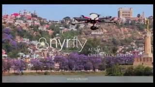Vue aérienne du Lac Anosy Antananarivo