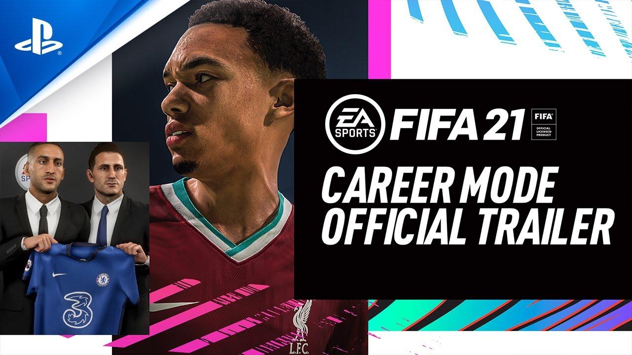 5 améliorations apportées au mode Carrière de FIFA 21