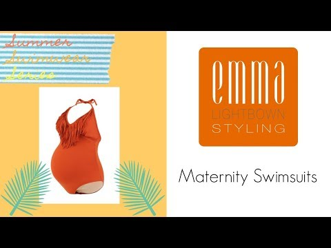 Summer Swimwear Series || Maternity Swimsuits