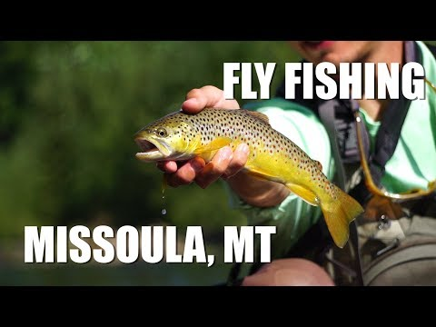 Fly Fishing around Missoula, Montana