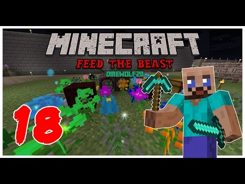 Minecraft: FTB Pack - 18 - Авто-Цветник!