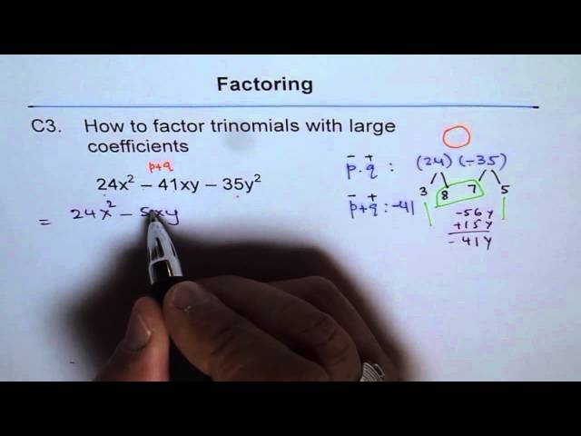 Factoring Trinomials With Large Numbers | Free MP3 Download
