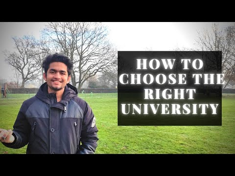 How to Select a Course and University | Things you need to know ...