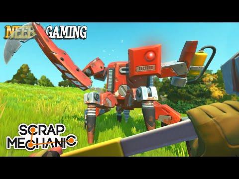 Scrap Mechanic : Farmbot Destroys Everything