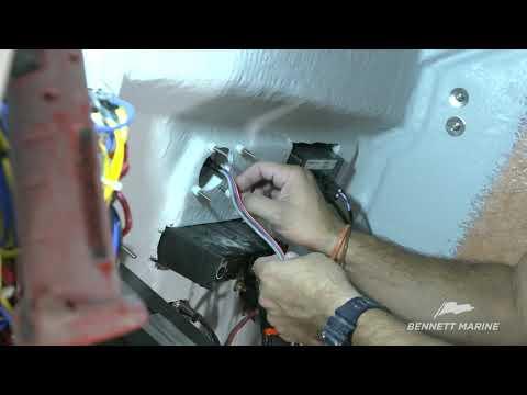 video library bennett marinebolt electric trim tab system install \u2013 part 2 (helm control rigging) bennett