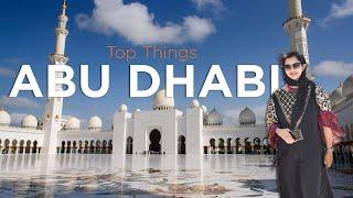 DAY TRIP TO ABU DHABI FROM DUBAI   TOP THINGS to do in ABU DHABI