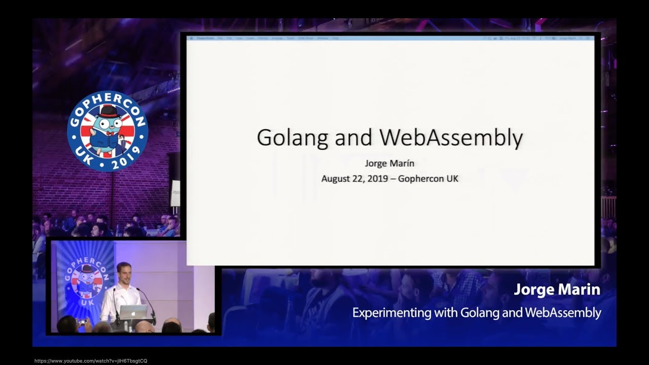 Experimenting with Golang and Webassembly