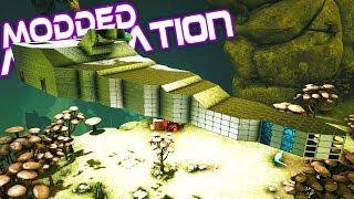 Ark Modded Aberration - Mega Ship Version 2 - Ep 13