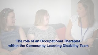The Role Of An Occupational Therapist Within The Community Learning Disability Team