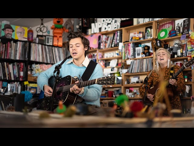 Harry Styles: NPR Music Tiny Desk Concert