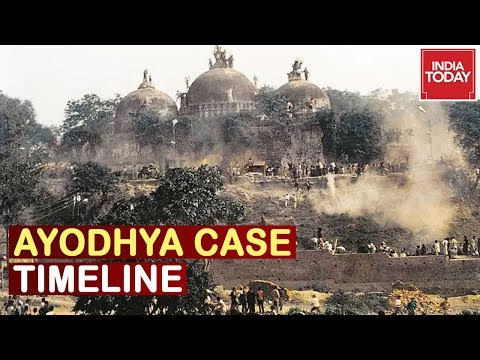 Ayodhya Case Timeline : The Last Fight For Plot Of Land , India's Oldest Dispute To End?