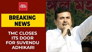 TMC Closes Its Door For Rebel Leader Suvendu Adhikari | West Bengal Politics | Breaking News - Download this Video in MP3, M4A, WEBM, MP4, 3GP