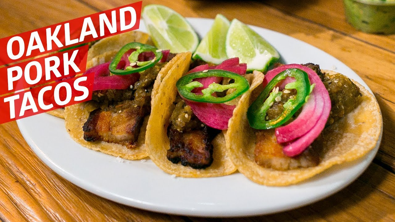 The Oakland Pork Belly Tacos with French and Chinese Influence — Cooking in America thumbnail