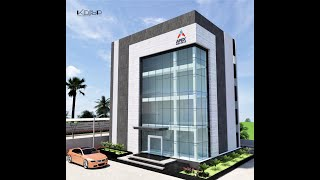 Apex Frozen Foods - Kakinada - Commercial Building Design By Krisp Interiors & Architecture