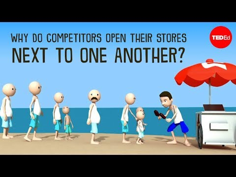 , title : 'Why do competitors open their stores next to one another? - Jac de Haan