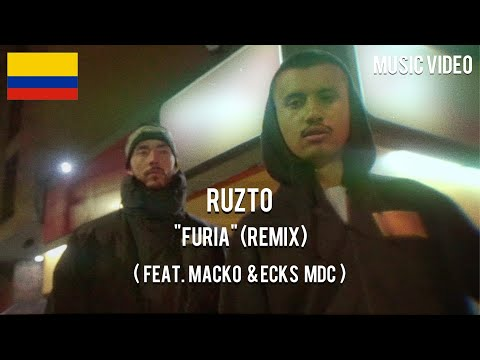Ruzto - Furia [ Remix ] ( Feat. Macko & Ecks MDC ) [ Music Video ]