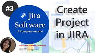 (#3)  | How to create a project in JIRA | JIRA tutorial for beginners