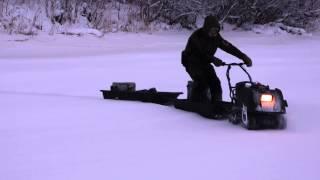 """Мотобуксировщик MOTORUS MINI R 6.5 DA от компании Магазин """"Технопарк"""" - видео 1"""