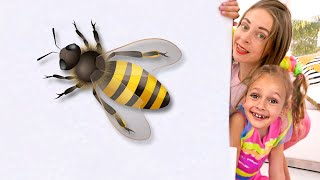 Maya Plays And Turns The Little Ones Into Big Ones | Kids Song By Maya And Mary
