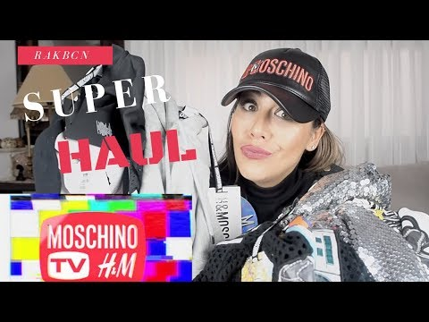 Super Haul Moschino by H&M видео