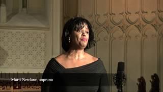 """Couldn't Hear Nobody Pray"" Harry T. Burleigh: T. Cunningham, arr., Marti Newland, soprano"
