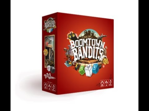 Boardgame Night ; We play Boomtown Bandits