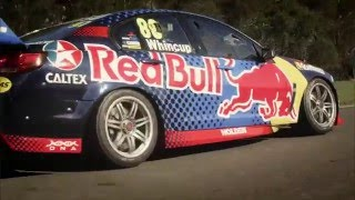 Supercars - PreSeason2016 Red Bull Racing Driver Livery Reveal