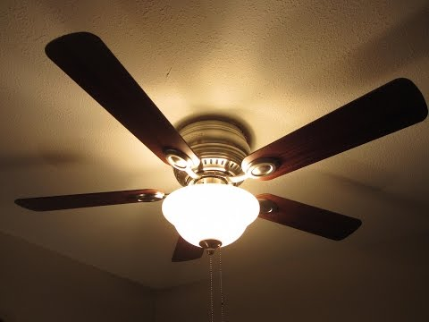 CEILING FAN INSTALLATION - HOW TO / DIY