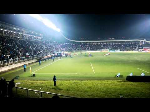"""Salida Deportes Puerto Montt-SAU 05.05.2015, Final!!!"" Barra: Los del Sur • Club: Deportes Puerto Montt"