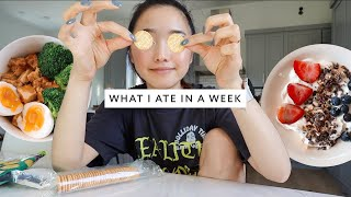 What I Ate In A Week (Healthy + Realistic)