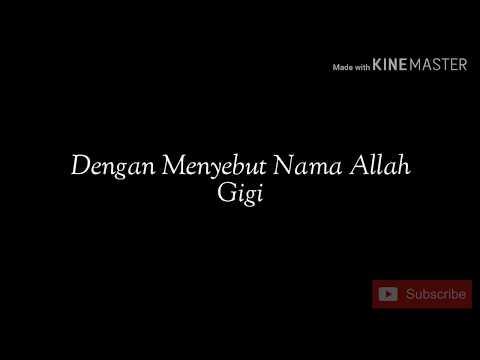 Dengan Menyebut Nama Allah Lyrics - Nagita Slavina