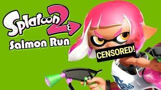 A Very Long BLEEP (Splatoon 2 Salmon Run Funny Moments)