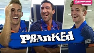 North Melbourne AFL Players In Ultimate Prank