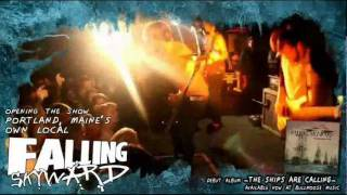FALLING SKYWARD with WE CAME AS ROMANS EMMURE BLESSTHEFALL  April 9 at Port City Music Hall
