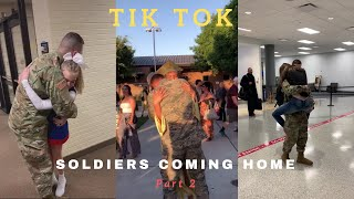 Soldiers Coming Home | TikTok Compilation #2